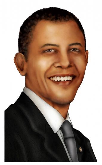 Barack Obama par the-earthbound-satyr
